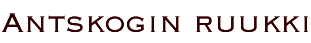 Antskog logo